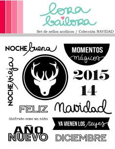 Lora Bailora sello Colección Navidad 2015