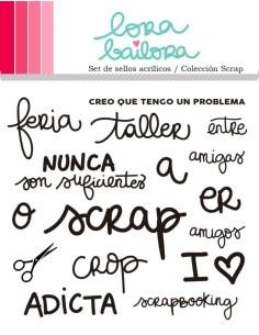 Lora Bailora sello Colección Scrap