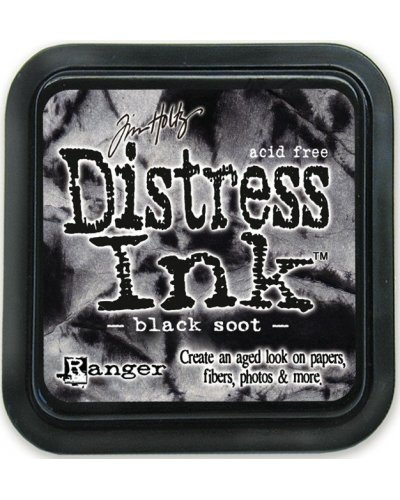 Tinta Distress black soot