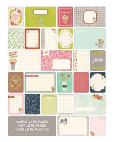 Project Life Card Floral