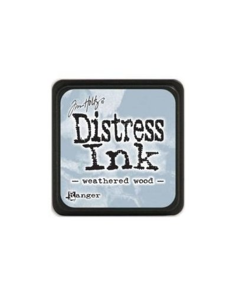 Tinta Mini Distress Weathered Wood