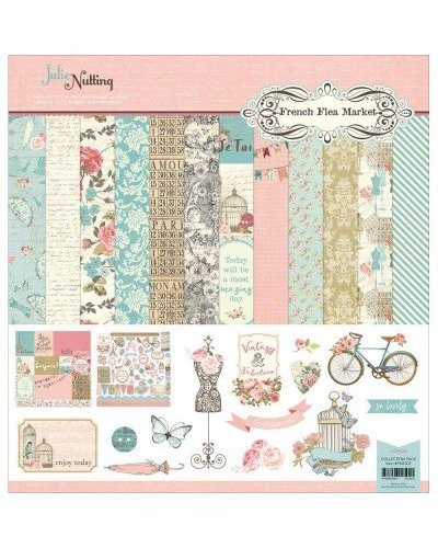 Kit Photo Play, Julie Nutting, French flea market