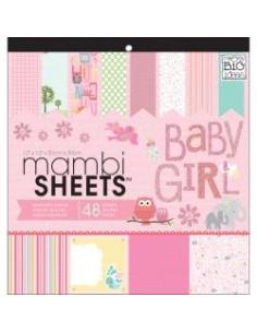 Pad12 Me&My Big Ideas Mambi Sheets, Baby Girl