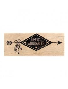 Florilèges sello tablero de madera
