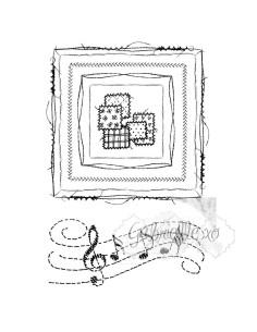 Sellos 49Market Gabi's Square Stitch