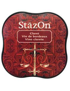 Tinta Stazon Midi morado gótico