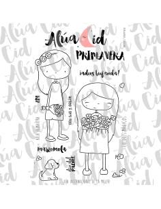 Alua Cid sello Marzomola