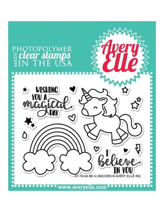 sello Be a Unicorn de Averyelle