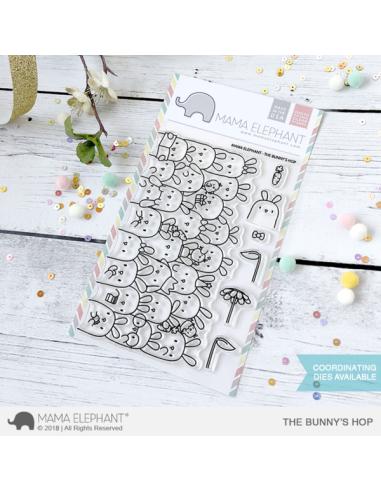 Mama Elephant sello The Bunny's Hop