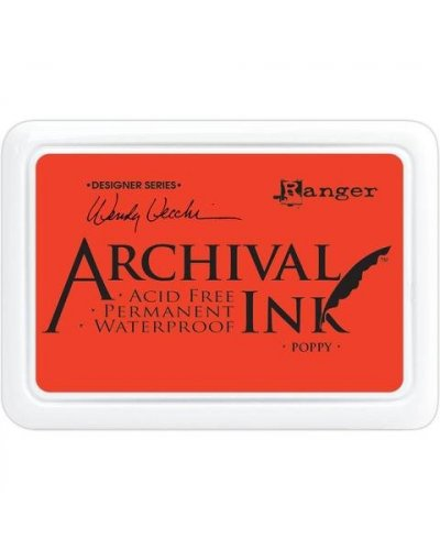Tinta Archival Poppy