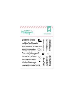Mintopia Sello Hashtags enamorados