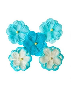 Flores SCB Double Flower turquesa