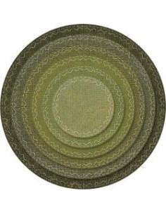 Framelits sizzix, Stitched circles
