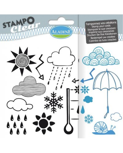 Sello Stampo Clear Aladine Meteo