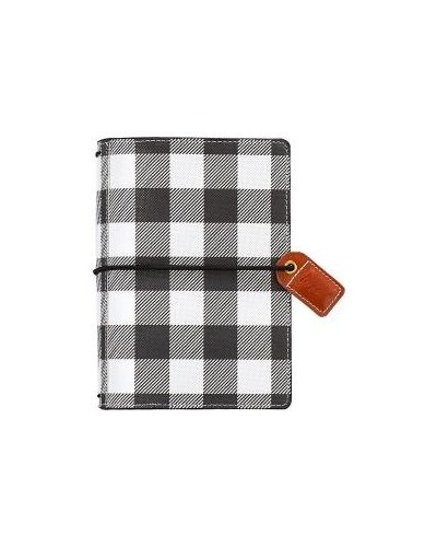 Agenda Webste's Pages Buffalo Plaid Pocket