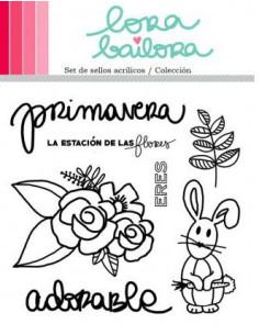 Lora Bailora sello Colección Primavera