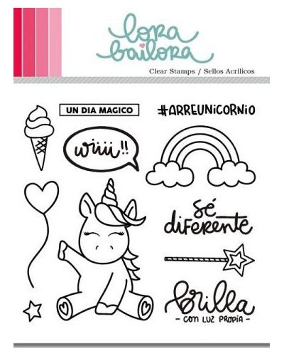 Lora Bailora sello Unicornio