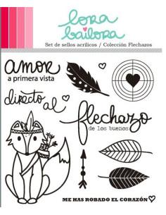 Lora Bailora sello Flechazos