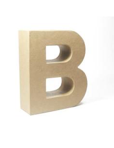 Letra cartón Kraft B