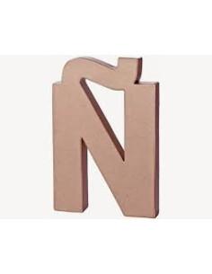 Letra cartón Kraft Ñ
