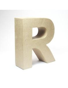 Letra cartón Kraft Q