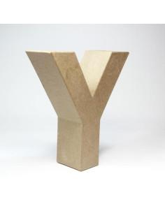 Letra cartón Kraft X