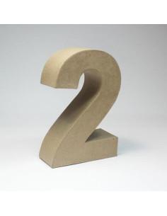 Número cartón Kraft 1