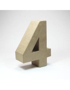 Número cartón Kraft 3