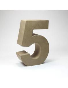 Número cartón Kraft 4