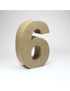 Número cartón Kraft 5