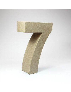 Número cartón Kraft 6