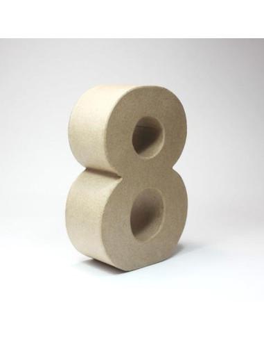 Número cartón Kraft 7