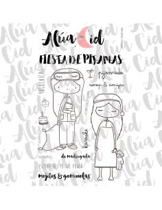 Alúa Cid sello Ed fiesta de pijamas