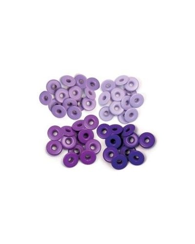 "Wide Eyelets 3/16"" azul"