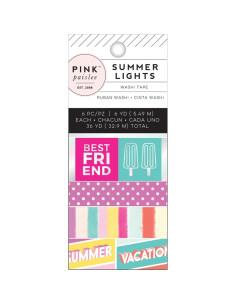 Washi Pink Paislee, Summer Lights, 6uni