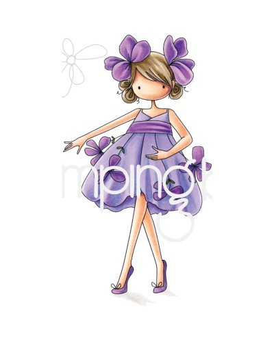 Sello StampingBella Tiny Townie Violet
