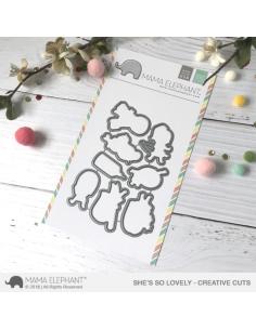 Mama Elephant A beary christmas die