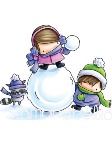 Sello Stampingbella Guera en la nieve