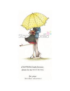 Sello Stampingbella Emily& Ryan under the Umbrella