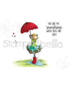 Sello Stampingbella Edna Loves Ice Cream