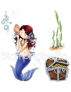 Sello Stampingbella Mermaid