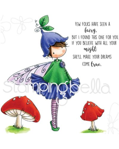 Sello Stampingbella Garden Fairy