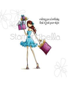 Sello Stampingbella Uptown Girls Clarissa & Camille