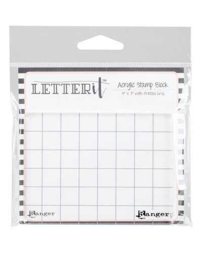"Bloque metacrilato Letter it, 4""x3"""