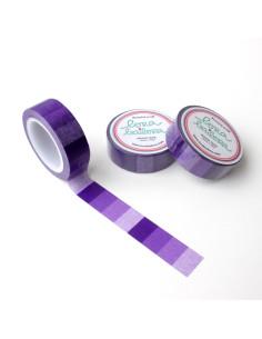 Washi Lora violeta degradado