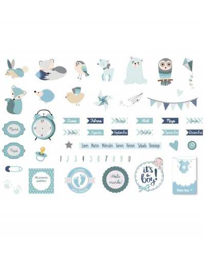 Die cuts Amelie, Little Boy Silver