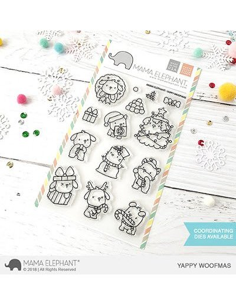 Mama Elephant Happy mail sello
