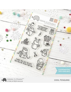 Mama Elephant Joy Ornaments sello