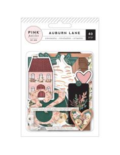 Die cuts Pink Paislee Auburn lane