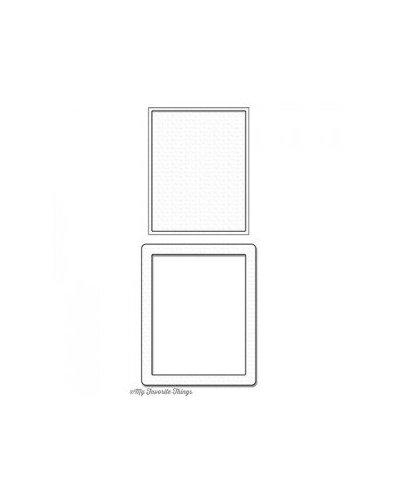 Die namics Rectangle Shaker window & frame